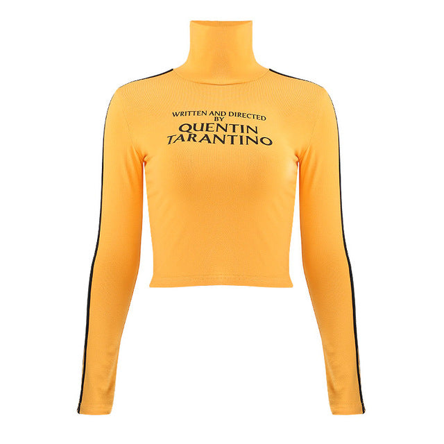 Written & Produced By Quentin Tarantino Long Sleeve Turtleneck - AfterAmour