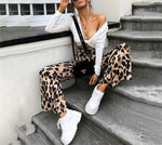 sauvage leopard trousers - AfterAmour