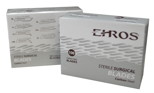 Ehros Surgical Carbon Steel Blades