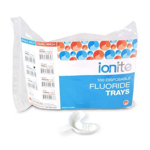 Ionite  White Single Arch Tray Medium Bag
