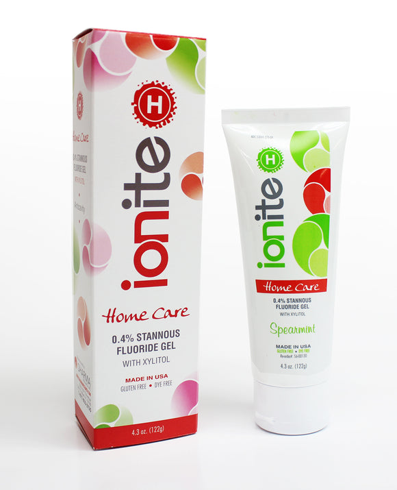 Ionite-H Home Care 0.4% Stannous Fluoride Brush-on Gels 43oz
