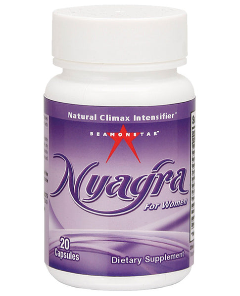 Name Your Price | Nyagra Female Climax Intensifier - Bottle Of 20 Capsules | Sexual Enhancers |Beamonstar | Only at evalaide.com