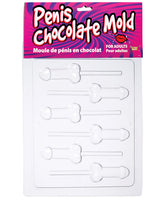 Name Your Price | Penis Chocolate Mold - Tray Of 6 Lolly Molds | Games And Novelties |Forum Novelties | Only at evalaide.com