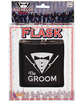 Bachelor Party Groom Flask, Games And Novelties, Forum Novelties - Only at Evalaide.com
