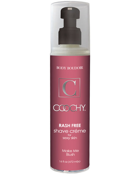Name Your Price | Coochy Rashfree Shave Creme - 16 Oz Make Me Blush | Body & Bath Products |Classic Erotica | Only at evalaide.com