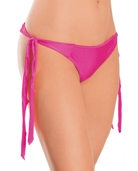 Flutter Side G-string Neon Pink O-s, Clothing And Lingerie, Escante INC - Only at Evalaide.com