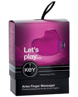 Key Aries - Raspberry Pink, Stimulators, California Exotic Novelties - Only at Evalaide.com