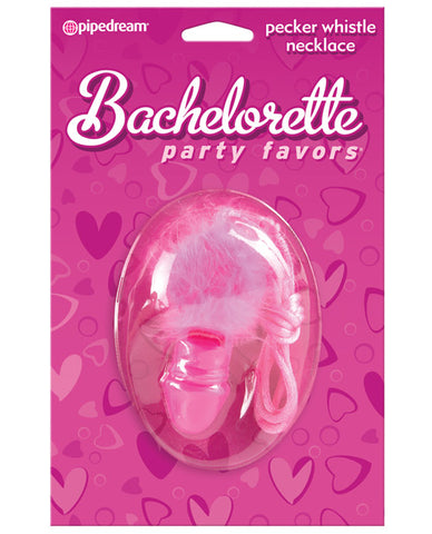 Bachelorette Party Favors Pecker Whistle Necklace, Games And Novelties, Pipedream Products - Only at Evalaide.com