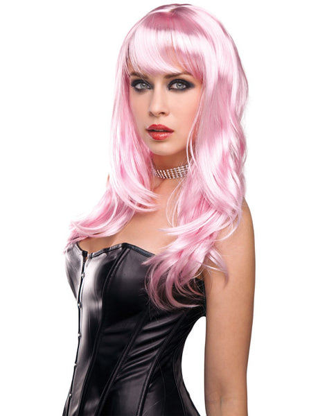 Candy Wig - Baby Pink, Costumes, Xgen - Only at Evalaide.com