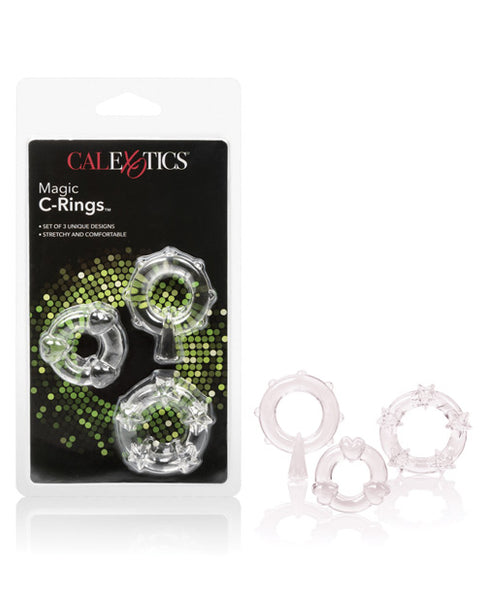Name Your Price | Magic C Rings - Clear | Penis Enhancement |California Exotic Novelties | Only at evalaide.com