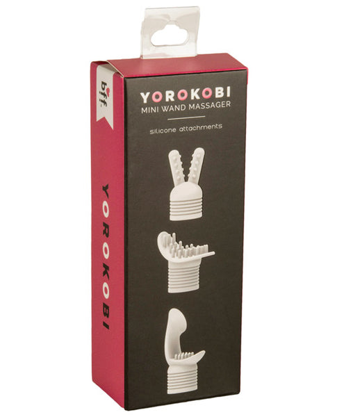 Bff Yorokobi Mini Wands Attch., Massage Products, Si Novelties - Only at Evalaide.com