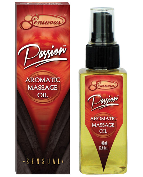 Sensuous Aromatic Massage Oil - 100 Ml Passion, Massage Products, Sensuous - Only at Evalaide.com
