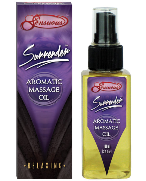 Sensuous Aromatic Massage Oil - 100 Ml Surrender, Massage Products, Sensuous - Only at Evalaide.com