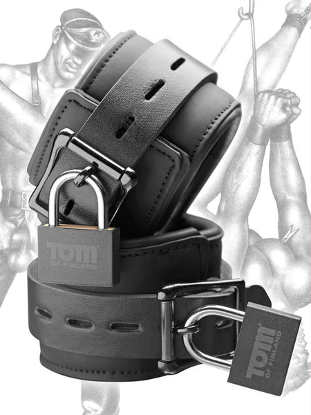 Name Your Price | Tom of Finland Neoprene Wrist Cuffs | Bondage Gear |Tom Of Finland | Only at evalaide.com