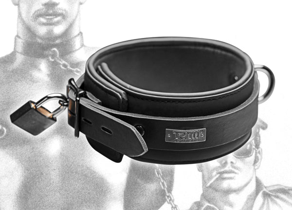 Name Your Price | Tom of Finland Neoprene Collar | Bondage Gear |Tom Of Finland | Only at evalaide.com