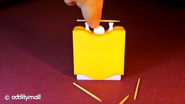 Weightlifter Toothpick Dispenser - Lifting Man Funny Toothpick Dispenser