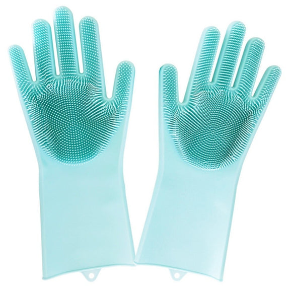 Magic Silicone Sponge Gloves