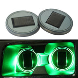 Solar Powered Cup Holder Lights (2-Pack)