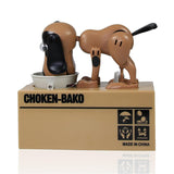 Hungry Dog Coin Bank - Robotic Dog Eating Coins Piggy Bank