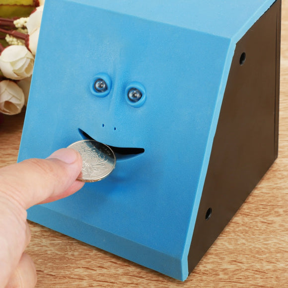 Face Bank - Weird Face Coin Bank That Chews and Eat Your Coins