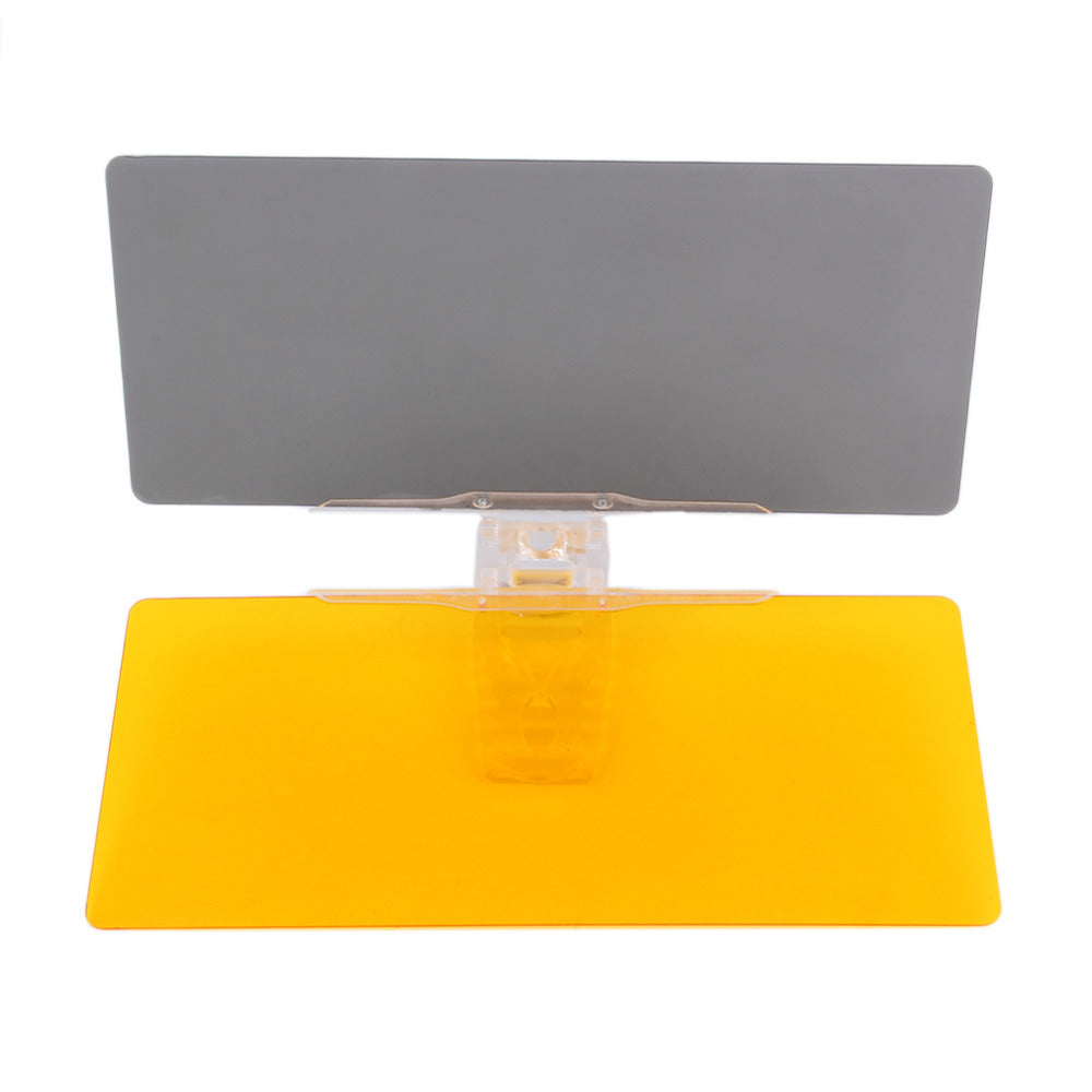 aee1a578 ... Day and Night Sun Visor - Transparent Sun Visor Helps Reduce Brightness  During Day, Glare ...