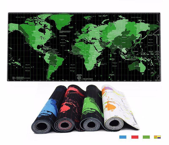 Giant World Map Desk Pad