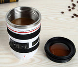 Camera Lens Travel Coffee Mug