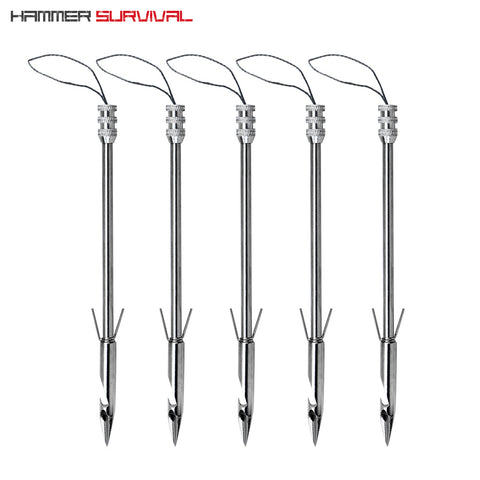 "6"" Broadhead Fishing Darts (Set of 5)"