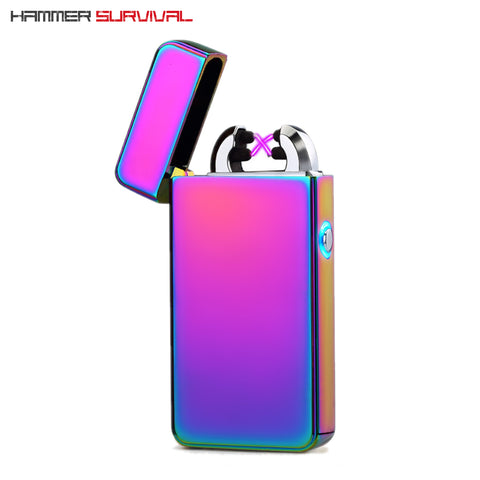 Dual-Arc Electric Plasma Lighter