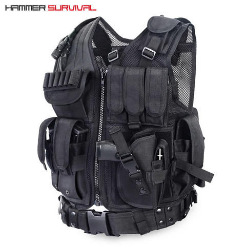 HS Military Style Tactical Vest