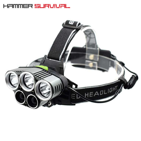 HS-5X | 5 LED 15,000 Lumen Tactical Headlamp