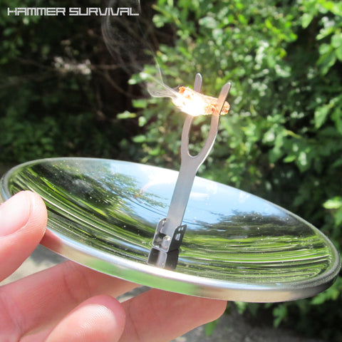 Solar Powered Fire Starter