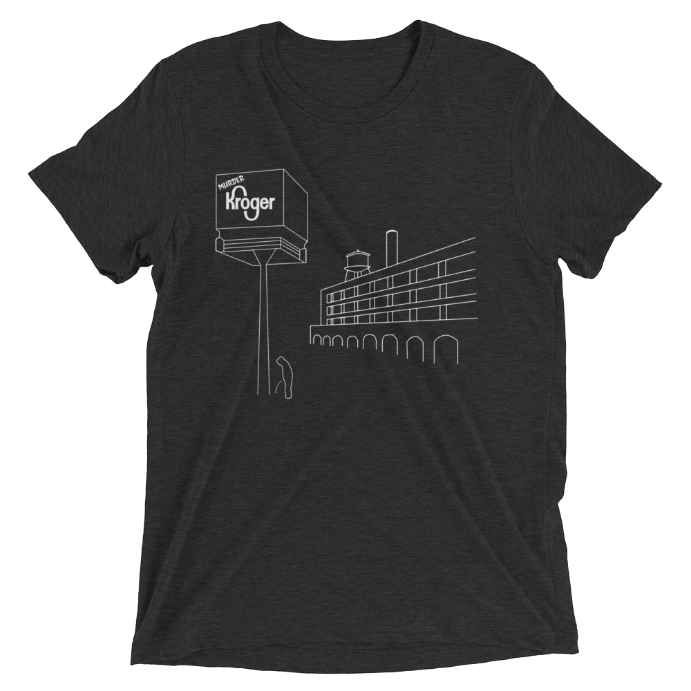 Murder Kroger - black and white unisex t-shirt for men and women