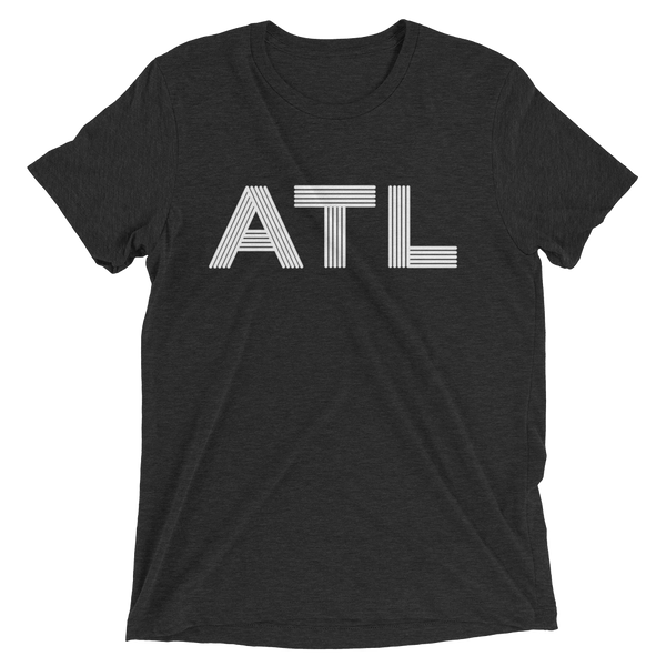 ATL - black unisex Atlanta t-shirt design for men and women