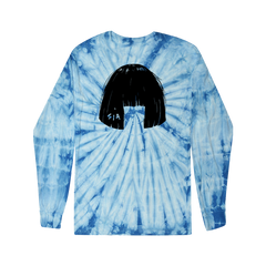 Big Wig Tie Dye Blue Long Sleeve