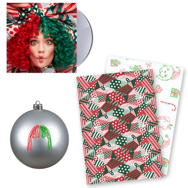 CD + Ornament + Wrapping Paper