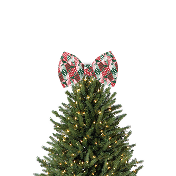 Christmas Tree Topper.Tree Topper Bow Everyday Is Christmas Sia Official Store