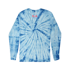 I Love You Tie Dye Long Sleeve