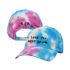 Keep Going Pastel Tie Dye Twill Cap