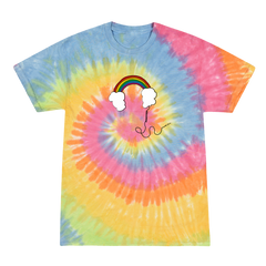 Headphones Tie Dye Tee + Digital Album