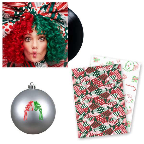 Vinyl + Ornament + Wrapping Paper