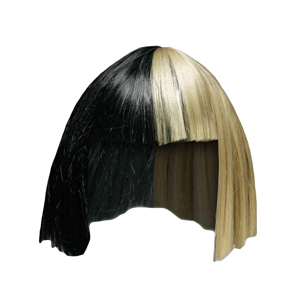 This SIA Bob Wig Is A Costume One Size Fits Most