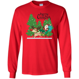 Santa Sleigh Shirt in Youth & Adult Styles