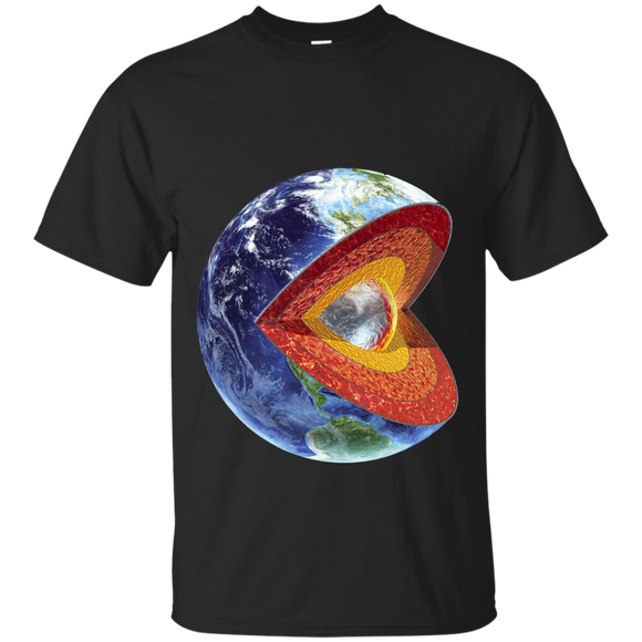 Pac Man Earth Space Shirt