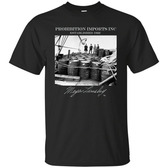 Meyer Lansky TM signature Prohibition Imports Shirt