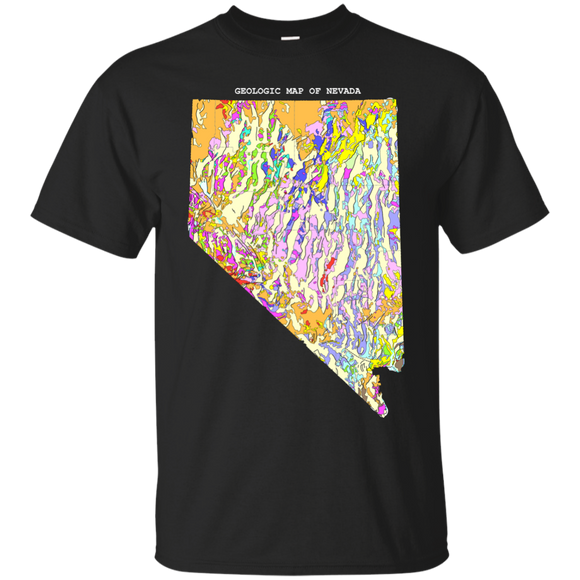 Nevada Geology Shirt