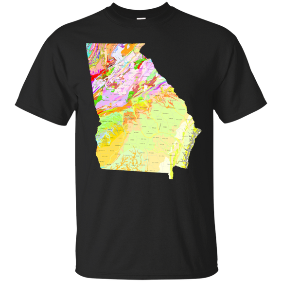 Georgia Geology Shirt