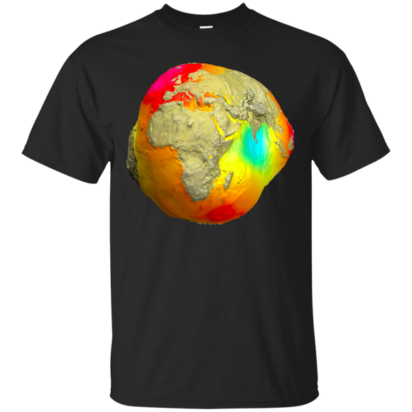 Earth Gravitation Warp Space Shirt