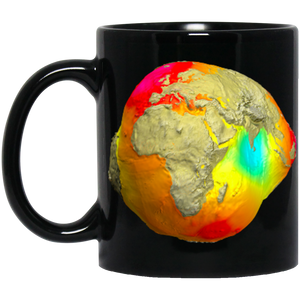 Earth Gravitation Warp Mug