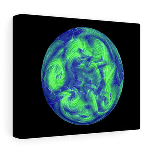 South Pole Wind Canvas Art